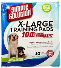 Simple Solution Training Pads - Extra Large - 10 pack