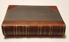 1881 Treatise Practice of Medicine for Students Practitioners Bartholow LEATHER