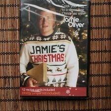 JAMIE'S CHRISTMAS - 12 RECIPE CARDS INCLUDED - DVD (sealed)