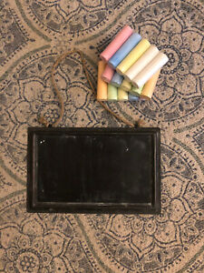 Paper Source Hanging Chalk Board With Chalk