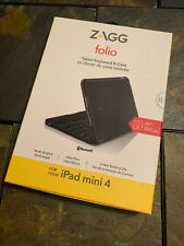 Zagg Folio Keyboard + Case - iPad Mini 4 - **BRAND NEW / FREE SHIPPING**