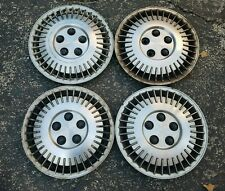 """Set of 4 OEM 1987-88 Chevy Corsica Chevette Cavalier 13"""" Hubcaps Wheel Covers"""