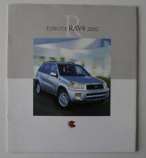 TOYOTA RAV 4 2002 dealer brochure - French - Canada - HS2003000818