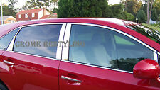 STAINLESS STEEL CHROME PILLARS FOR TOYOTA VENZA 2009-2016 (10 PC SET)