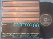 SANREMO 69 - Orig LP SERGIO ENDRIGO NEW TROLLS ALAN JACK CIVILIZATION PSYCH