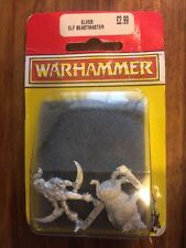 Wood Elves Boar Handler /Animal Keeper Beastmaster NIB Metal Elf Games Workshop