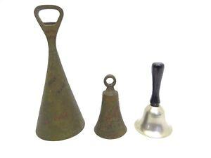 Mixed Lot Brass & Metal Heres How La Salute Bottle Opener Bell Bells Decorative