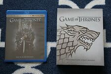 Game of Thrones Season 1 Blu-ray w/ Stark Sigil Cover from Best Buy + BONUS