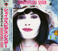 SHAKESPEAR'S SISTER Sacred Heart FIRST JAPAN CD OBI P00L20108 Bananarama