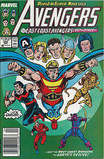 Avengers #302 Newsstand Edition (Apr. 1989) VF Copper Age Marvel Comic ID#1895