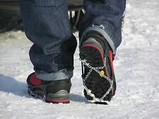 BERSTEIGER RUD SNOW AND ICE CHAINS TO FIT SHOES BOOTS IDEAL FOR WALKING/HIKING
