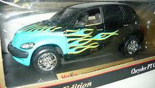 Maisto 31046 Chrysler PT Cruiser, schwarz mit Speziallackierung, 1/18, NEU&OVP