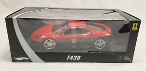 RARE! Hot Wheels Elite Ferrari F430 - Red/Black - N5421 - 1:18 Diecast Model