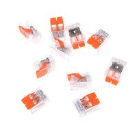 10x Universal-Kompaktkabel 2-poliger Stecker Anschlussklemme HN ML