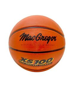 Macgregor XS100 Size 7 Rubber Basketball