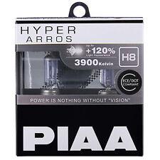 PIAA Hyper Arros H8 Coche Bombillas +120% (Pack Doble) HE904