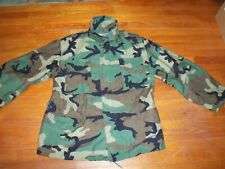 """Army Military """"American Apparel Inc."""" Camouflage Field Jacket"""