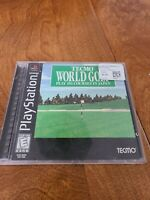 Tecmo World Golf (Sony Playstation 1 ps1) Complete