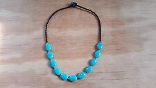 Handmade Turquoise Stone Necklace