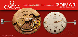 Vintage Movement OMEGA.591- REF.17644775, Ø. Of ESFERA.27.5mm