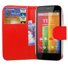 Fundas y carcasas Para Motorola Moto G color principal rojo para teléfonos móviles y PDAs Motorola