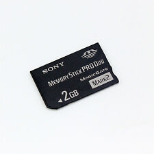 Genuine Sony 2GB Memory Stick PRO Duo, MS 2GB For Sony Camera/Recorder/PSP.