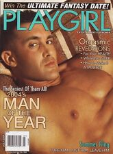 PLAYGIRL July 2004 MAN OF THE YEAR Robert Michael RONNIE GRAHAM Jersey Shore