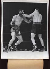 Original 1946 Joe Louis vs. Tami Mauriello Wire Photo