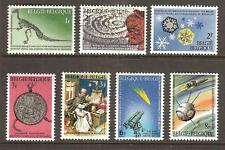 BELGIUM # 664-70 MNH NATIONAL SCIENTIFIC HERITAGE