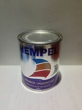HEMPEL PAINT PRIMER UNDERCOAT 750ml WHITE 10000 MARINE PAINTS AND COATINGS