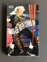 DAVID LEE ROTH - Stand Up / Knucklebones Cassette Tape Single Hard Rock Rare