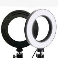 """6.3 """"Selfie LED Ringlicht Kamera Telefon Video Makeup 2020 Light Dimmbar B8G0"""
