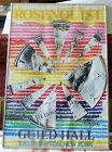 "Vintage 1974 frmd Rosenquist 36"" Serigraph Poster Starfish East Hampton N. Y."
