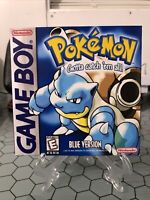 Pokemon Blue Version Nintendo Game Boy Authentic Game Tested Saves