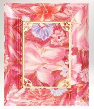 Cornice Portafoto da Tavolo per foto 13x17 cm ROSE FLOWERS in Legno Decorato
