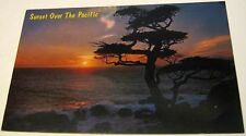 United States California Sunset over the pacific C756GA Bell Magazine Agency - u