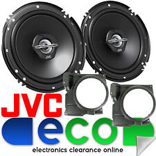 VW Polo 6N2 MK3 99-03 JVC 16cm 600 Watt 2 Way Front Door Car Speakers & Bracket