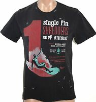 Men's Golden Breed Shredders Surf Tee / T-Shirt. Size S - 2XL. NWT, RRP $29.95
