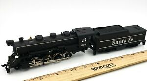 Tyco Ho Scale CHATTANOOGA 638 Train Locomotive Steam Engine W/ Tender TESTED