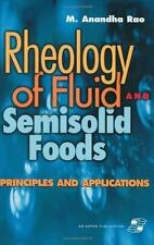 Rheology of Fluid and Semisolid Foods: Principles and Applications:-ExLibrary