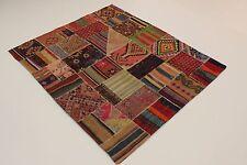 Nomades Kelim Patchwork Look Antique Très Bien Persan Tapis D'Orient 2,06 X 1,82