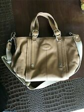 Auth. TOD'S G-line Sacca Tan Soft Leather Tote Bag