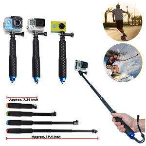 Tripod Monopod Stick Waterproof Pole Selfie Handheld+For SJ400 Gopro Hero5 4 3