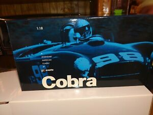 Exoto Shelby Cobra 2001new 260 Blue limited edition 1:18 scale DieCast #714