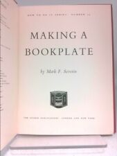 Making a Bookplate (How To Do It Series: Number 39) by Severin, Mark F.