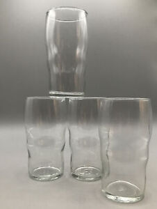 Lot of 4 Libbey Governor Clinton Tumblers 12 Oz Vintage Hard to Find, Restaurant