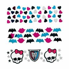 Monster High Fête D'Anniversaire Confettis Pack de 3 - Table Copeaux