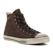 Converse John Varvatos CT Split Seam Studs High Top Shoes Chocolate W-9 M-7