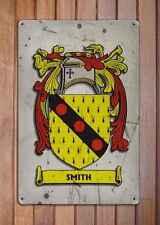 Hall Coat of Arms A4 Aged Retro 10x8 Metal Sign Aluminium Heraldry