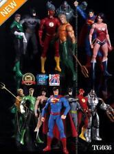 7 St.Justice League Aktion Figuren Wonder Batman Superman Frauen Flash